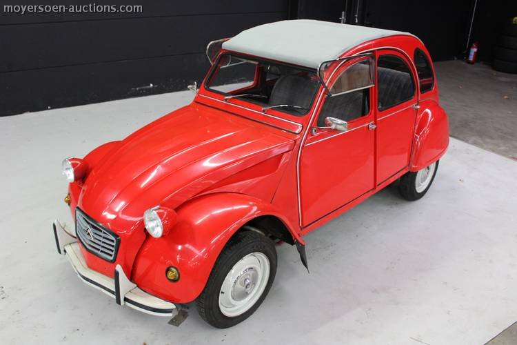 1984 CITROËN 2CV6 Special For Sale by Auction (picture 1 of 4)