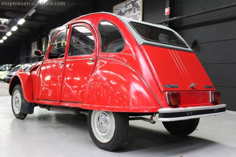 1984 CITROËN 2CV6 Special For Sale by Auction (picture 2 of 4)