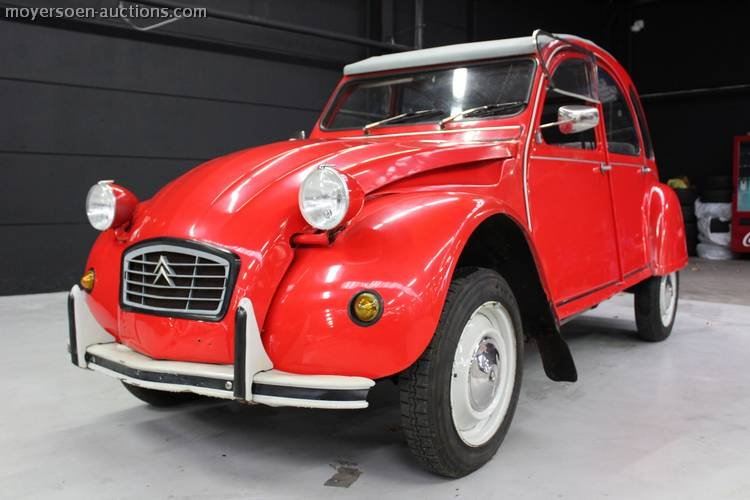 1984 CITROËN 2CV6 Special For Sale by Auction (picture 4 of 4)