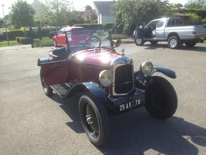 1928 C3 5 HP fully restored For Sale