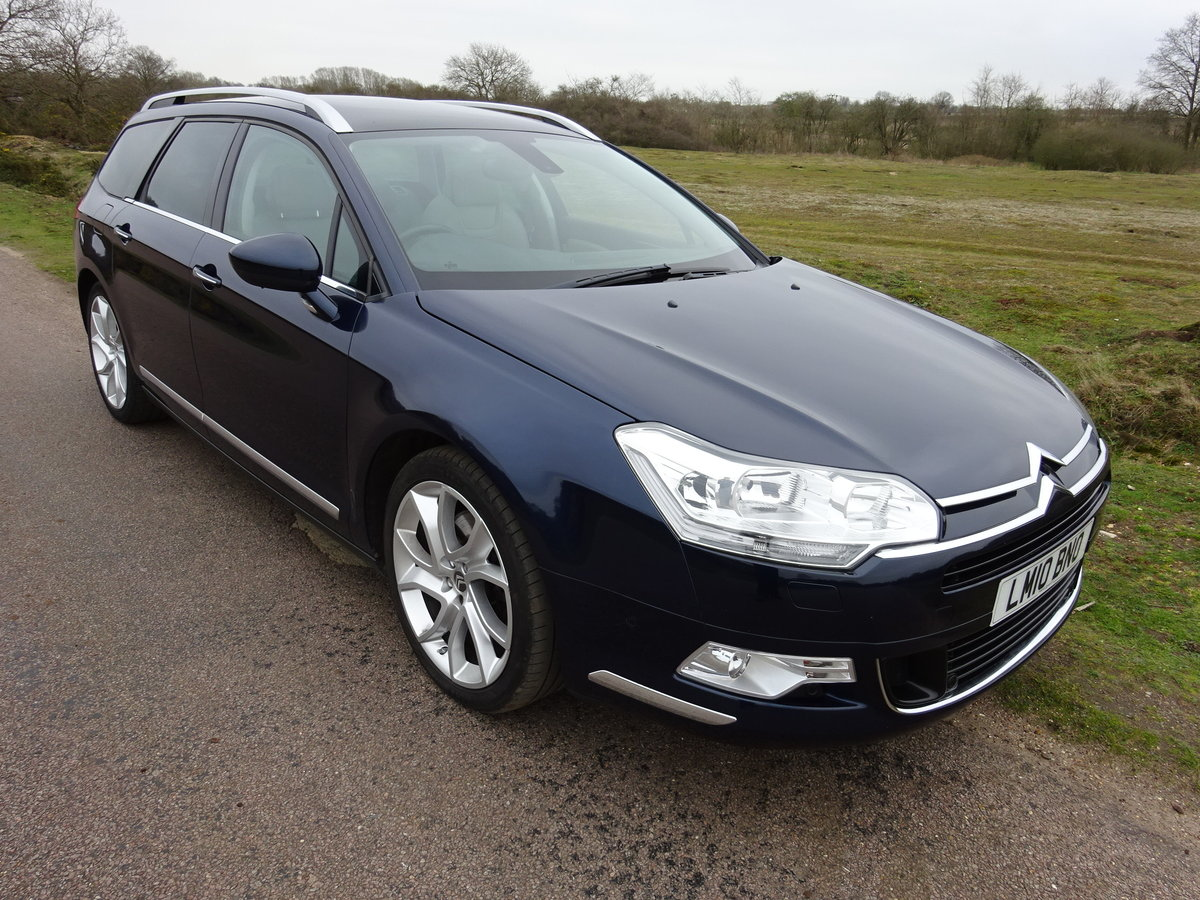 2010,CITROEN C5 3.0HDi V6 AUTO,EXCLUSIVE,TOURER, For Sale (picture 2 of 6)