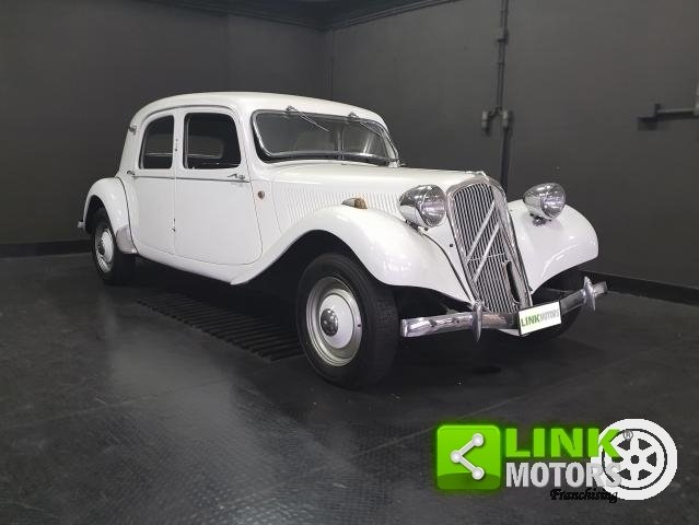 Citroen Traction B11 1937 iscritto ASI For Sale (picture 1 of 6)