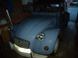 1986 Citroen 2CV with MOT to March 2020. For Sale