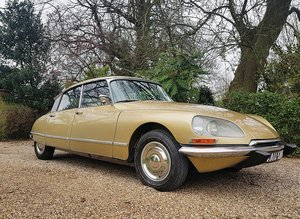 CITROEN DS 21 PALLAS 1969 - RIGHT HAND DRIVE For Sale