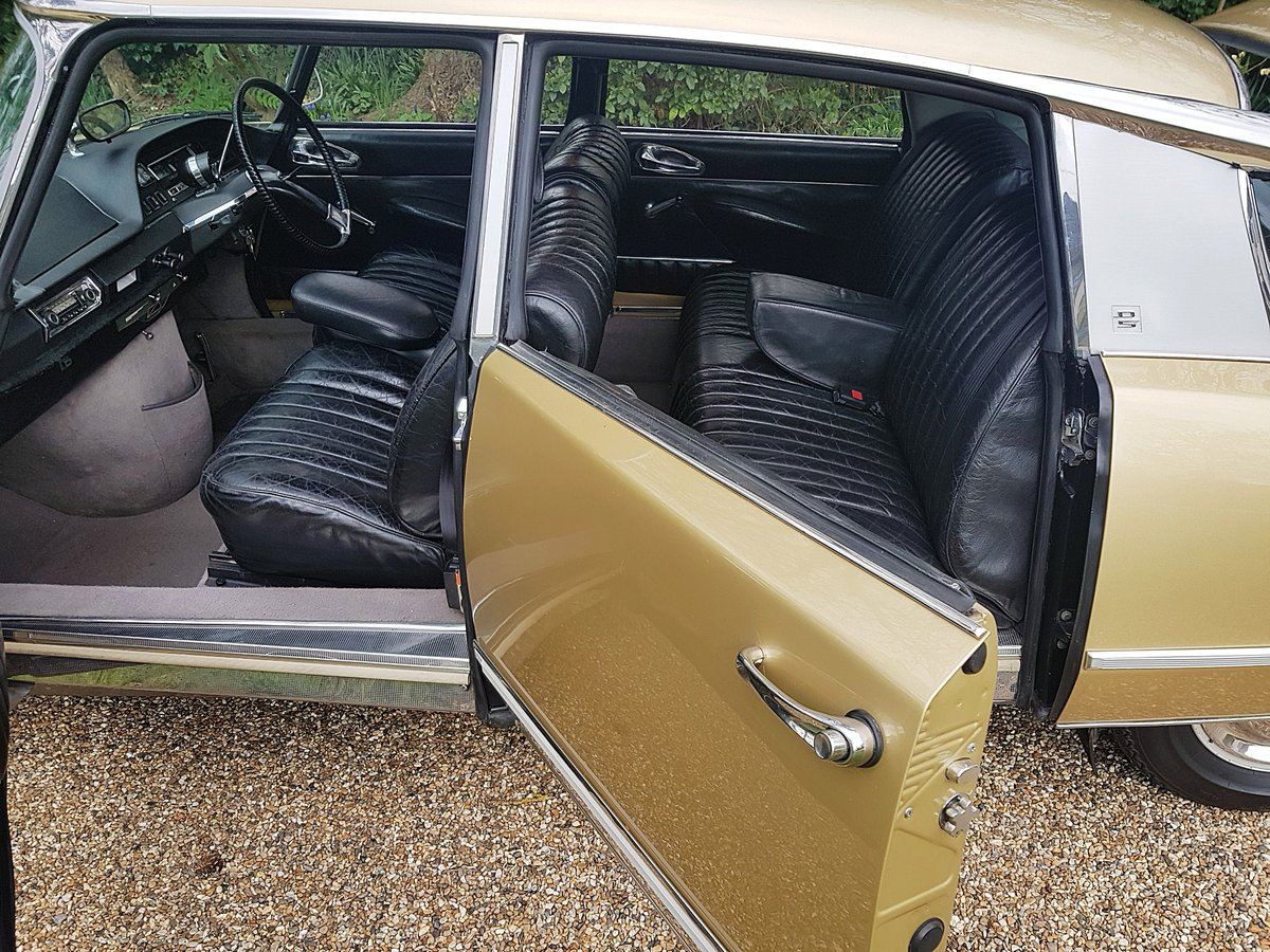 CITROEN DS 21 PALLAS 1969 - RIGHT HAND DRIVE For Sale (picture 5 of 6)