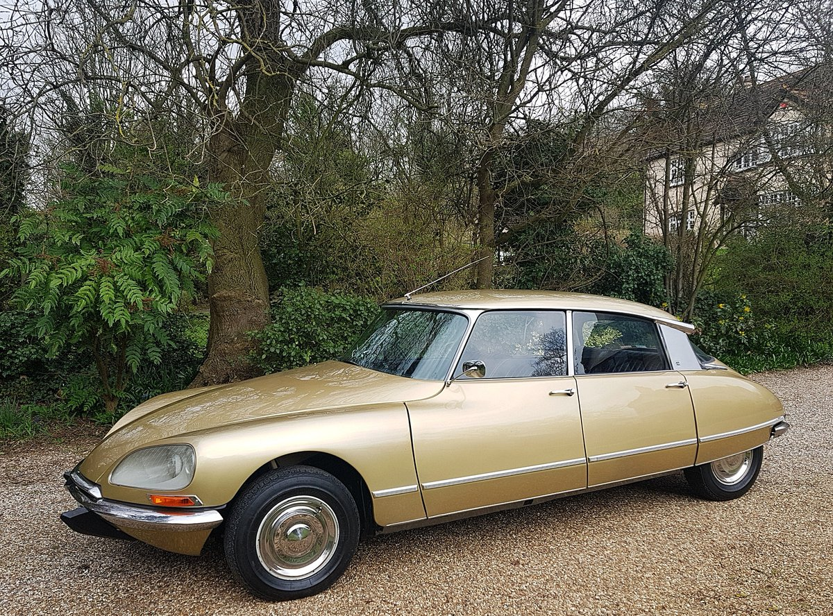 CITROEN DS 21 PALLAS 1969 - RIGHT HAND DRIVE For Sale (picture 3 of 6)