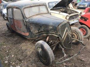 1938 Citroen 11 BL Berliner Sport LHD For Sale