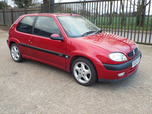 Citroen Saxo VTS 16V 2000 X-reg. Low miles,  For Sale