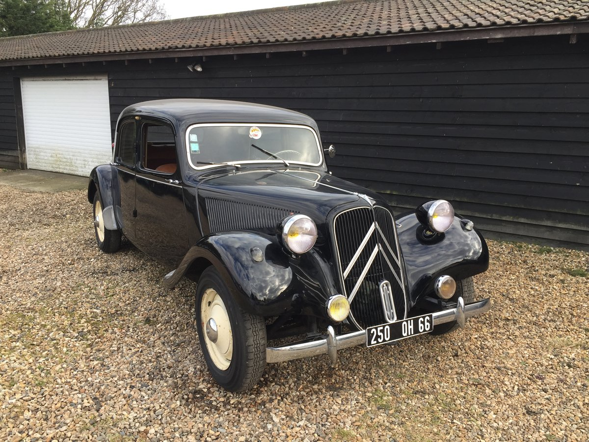 1955 Citroën Traction For Sale (picture 1 of 6)