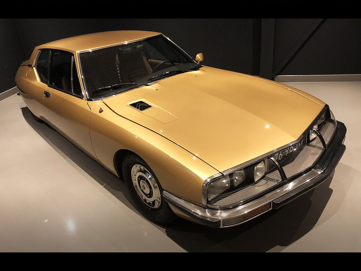 1972 Top restored ´72 Citroen SM SOLD (picture 1 of 6)