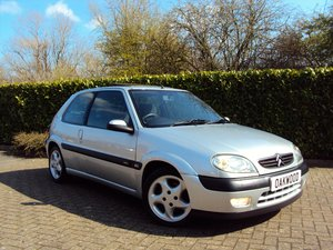 2002 An EXCEPTIONAL Low mileage and Unmolested Saxo VTS