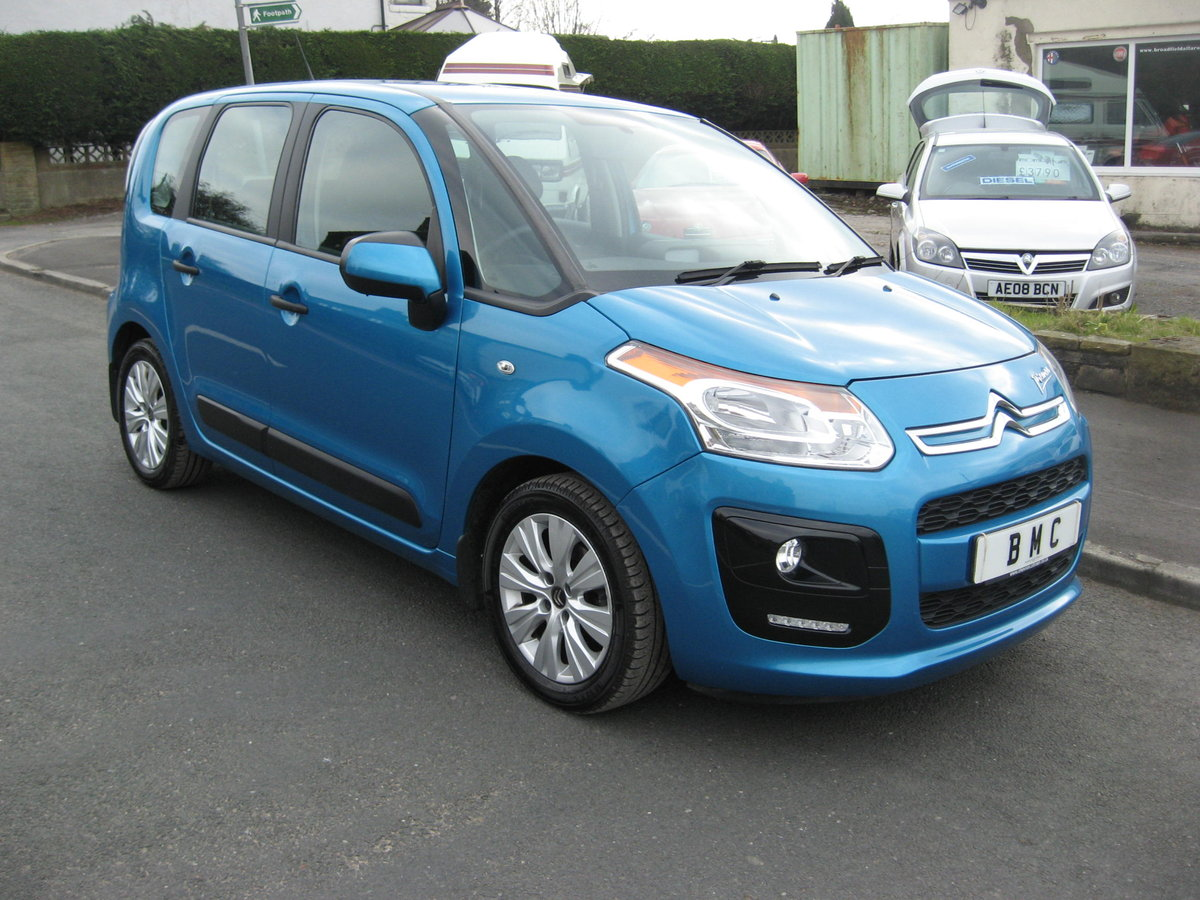 2013 13-reg Citroen C3 Picasso 1.6HDi 8v VTR+ 5Dr manual For Sale (picture 1 of 6)
