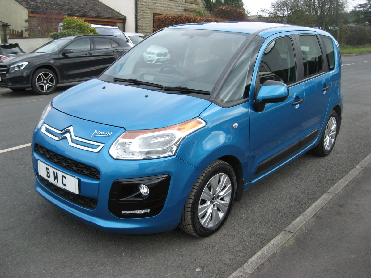 2013 13-reg Citroen C3 Picasso 1.6HDi 8v VTR+ 5Dr manual For Sale (picture 3 of 6)