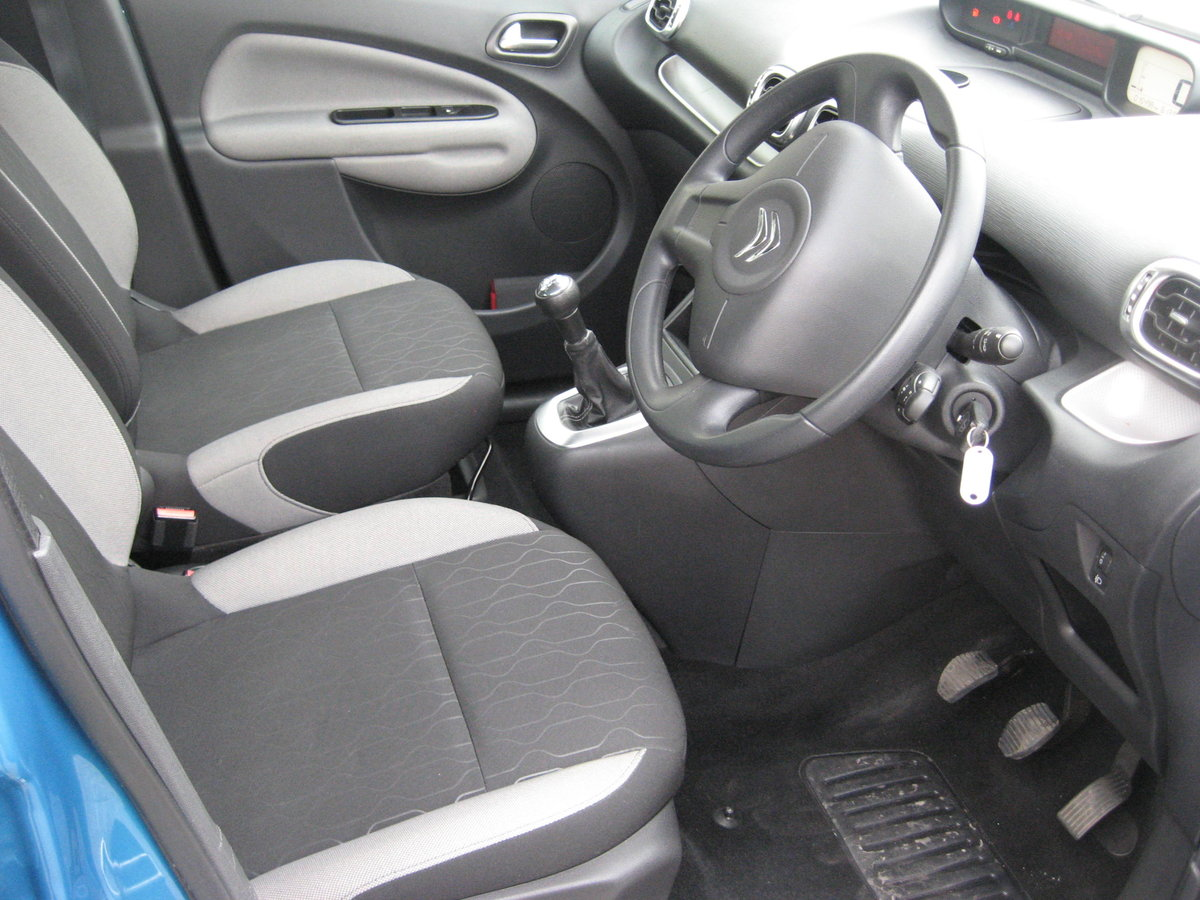 2013 13-reg Citroen C3 Picasso 1.6HDi 8v VTR+ 5Dr manual For Sale (picture 5 of 6)