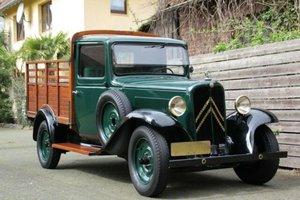 Citroën 10 U 8 Rosalie Pickup, 1933 SOLD