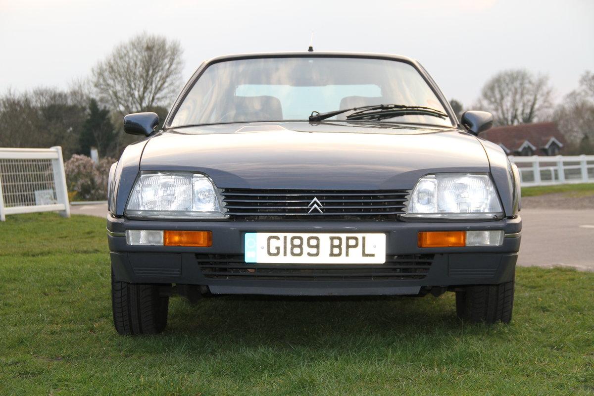 1989 Citroen CX GTi Auto for sale SOLD (picture 2 of 6)