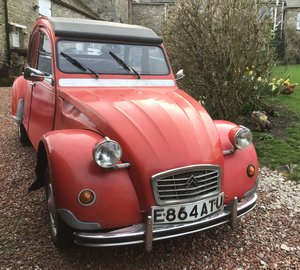 1988 Citroen 2CV Special, with Galvanized chassis For Sale