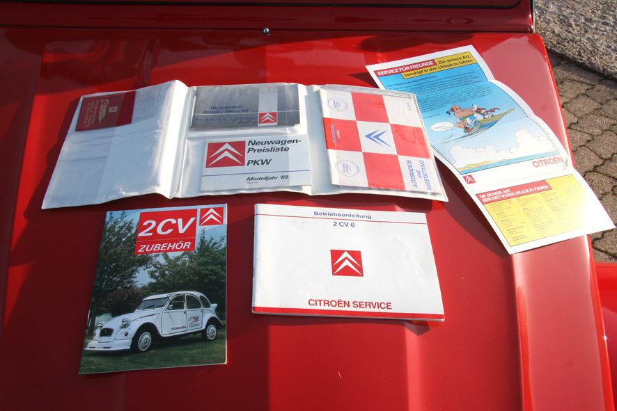 1989 Original Citroen 2 CV 6 Club for sale - LHD For Sale (picture 6 of 6)