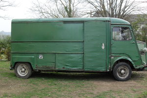 1977 Classic, rare and original, long w'base citroen hy For Sale