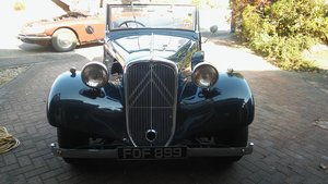 1939 Light 15 Roadster (traction avant) For Sale