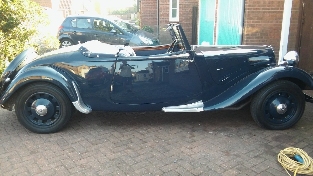 1939 Light 15 Roadster Traction Avant For Sale Car And