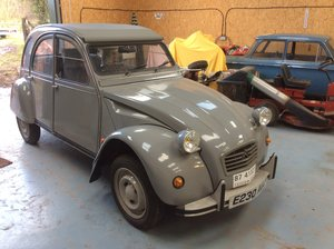 1987 2CV Un-used. Delivery mileage only. LHD