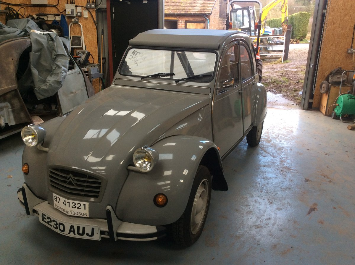 1987 2CV Un-used. Delivery mileage only. LHD For Sale (picture 2 of 6)