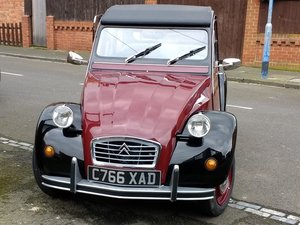 1986 2CV 6 Fully restored Charleston needs new home For Sale