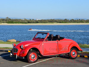 1971 Citroen 2CV6 Convertible by Hoffman For Sale