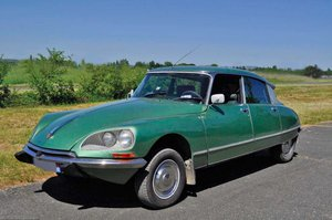 CITROËN DS 21 Pallas Injection Electronique- 1972 For Sale by Auction