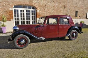 CITROËN TRACTION 7C/11 - 1938 SOLD by Auction