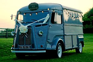 1975 Citroen HY classic mobile cafe bar
