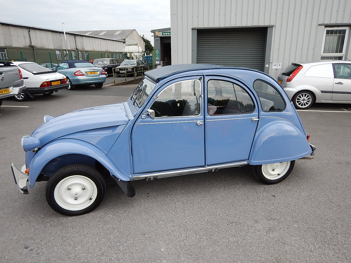 1987 CITROEN 2CV Special ~ Fully Restored to Excellent Condition  SOLD (picture 1 of 6)