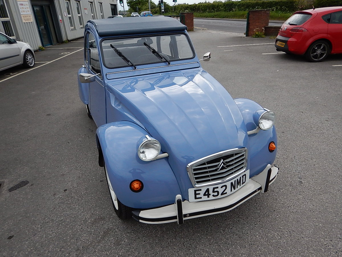 1987 CITROEN 2CV Special ~ Fully Restored to Excellent Condition  SOLD (picture 2 of 6)