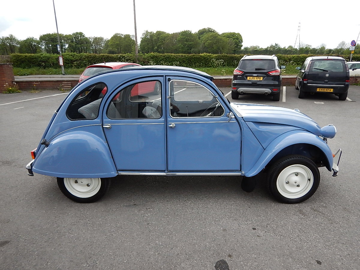 1987 CITROEN 2CV Special ~ Fully Restored to Excellent Condition  SOLD (picture 3 of 6)