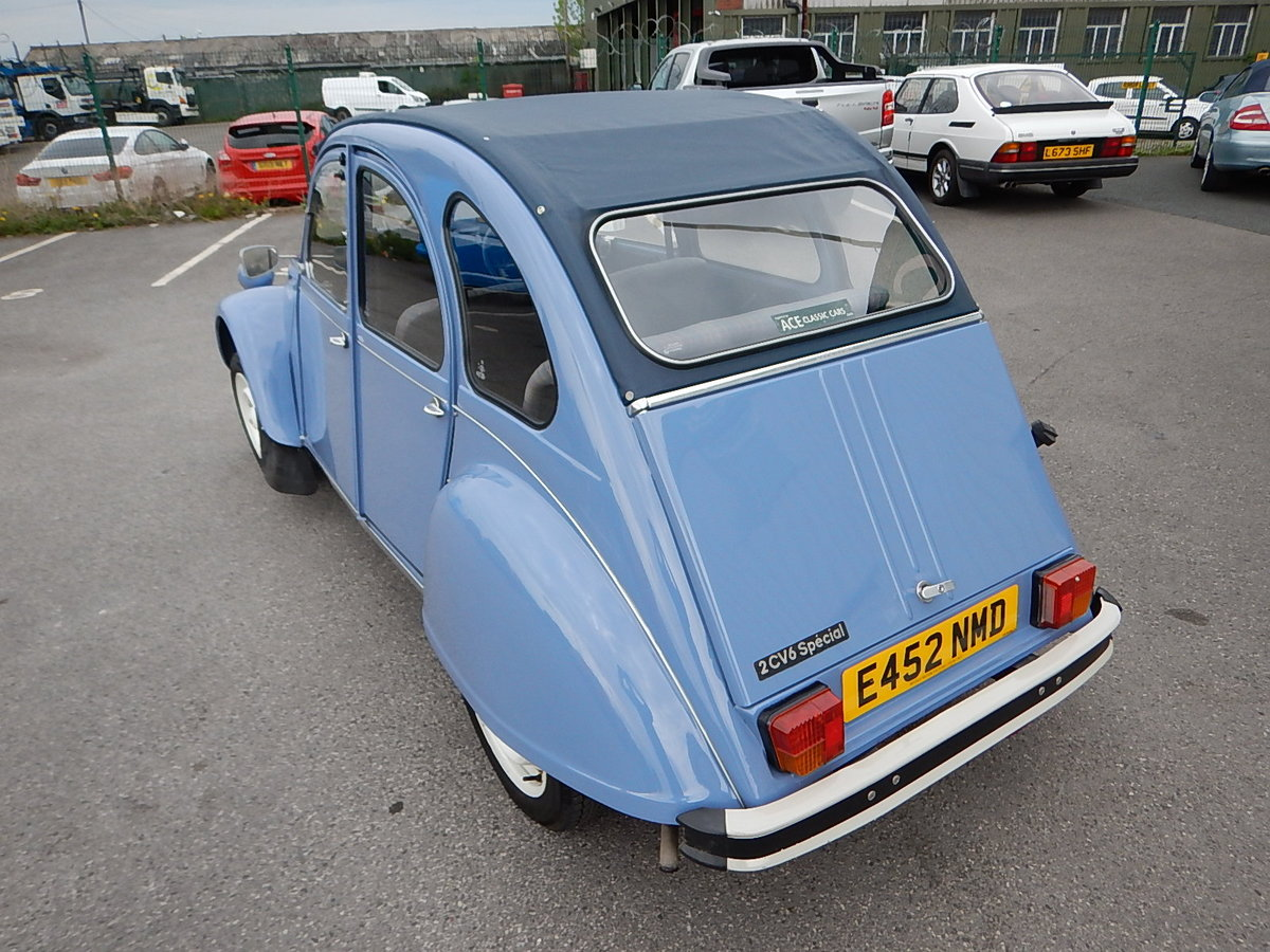 1987 CITROEN 2CV Special ~ Fully Restored to Excellent Condition  SOLD (picture 4 of 6)