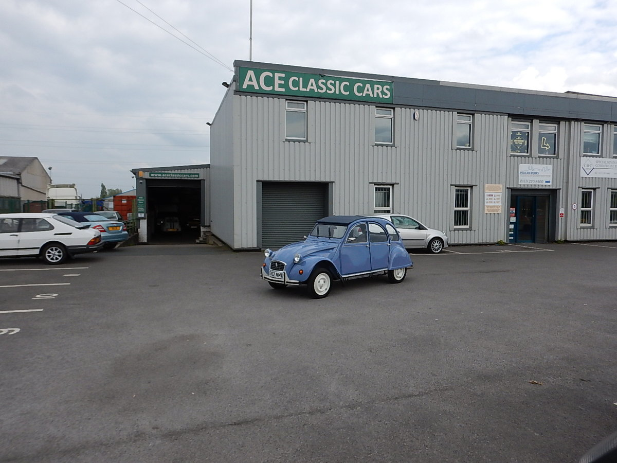 1987 CITROEN 2CV Special ~ Fully Restored to Excellent Condition  SOLD (picture 6 of 6)