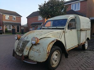1955 CITROEN 2CV AZU VAN For Sale