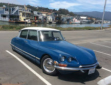 1970 Citroen DS Coupe = clean Blue driver Auto $39k For Sale