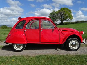 1988 Superb Citroen 2CV6,only 33000 miles and 3 owners from new! SOLD