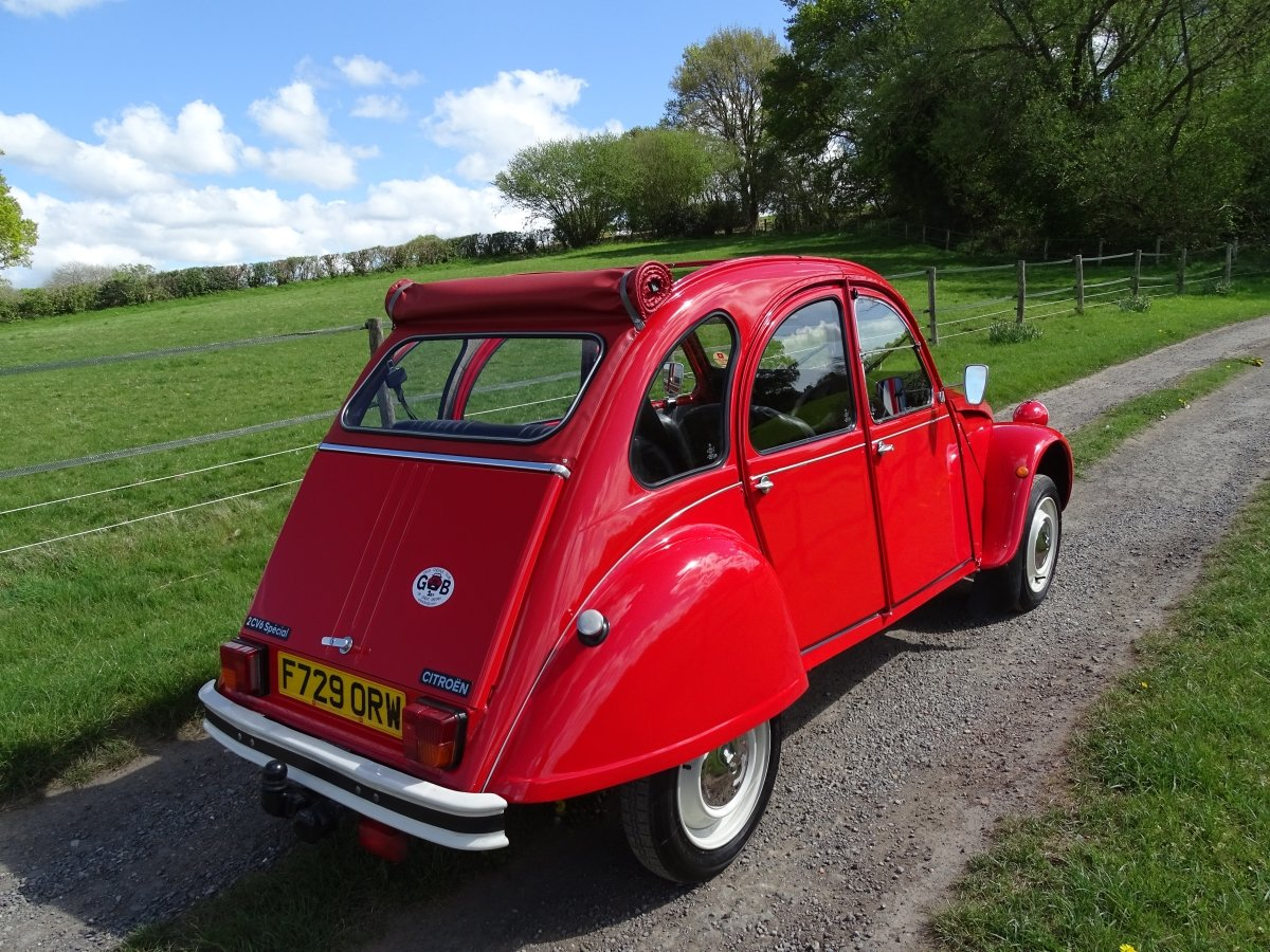 1988 Superb Citroen 2CV6,only 33000 miles and 3 owners from new! SOLD (picture 4 of 6)