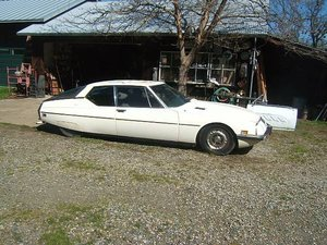 1972 Citroen SM = Rare 1 of 100 Sunroof Project Ivory $6.7k For Sale