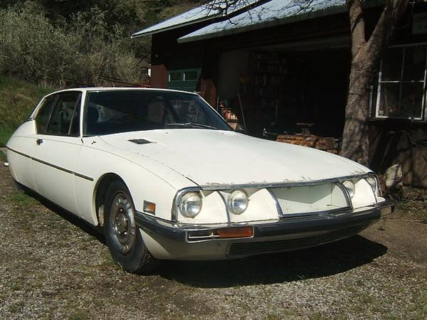 1972 Citroen SM = Rare 1 of 100 Sunroof Project Ivory $6.7k For Sale (picture 2 of 6)