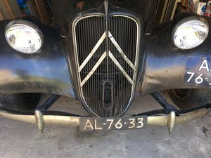 1953 Citroen Traction Avant 11B Normale