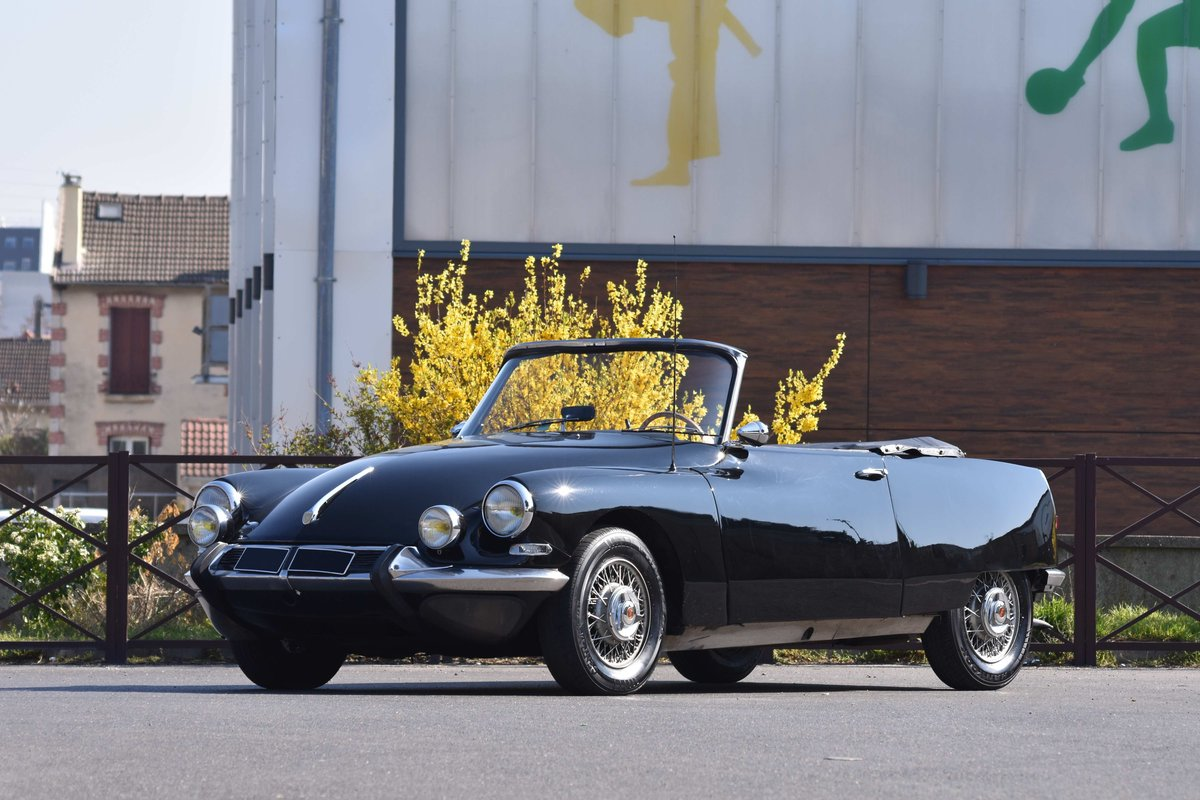 1966 Citroën DS 21 Cabriolet by Bossaert For Sale by Auction (picture 1 of 5)