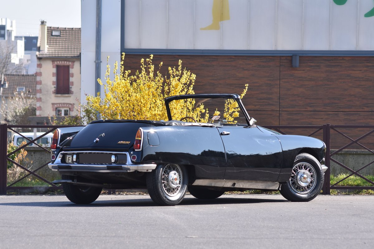 1966 Citroën DS 21 Cabriolet by Bossaert For Sale by Auction (picture 3 of 5)