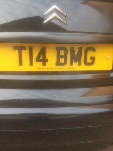 2002 Number Plate -  T14 BMG