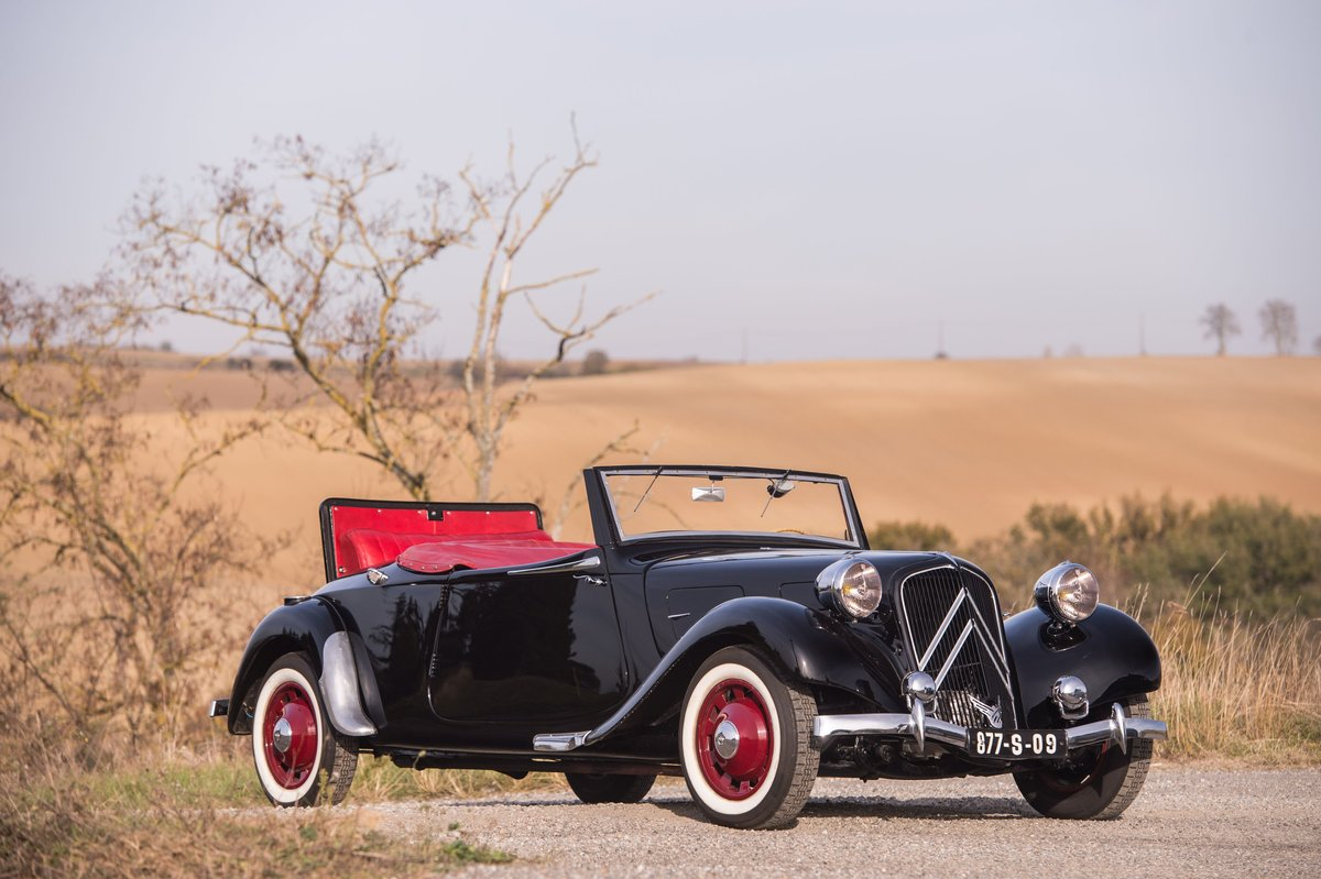 1939 Citroën Traction 11 B cabriolet For Sale by Auction (picture 1 of 5)