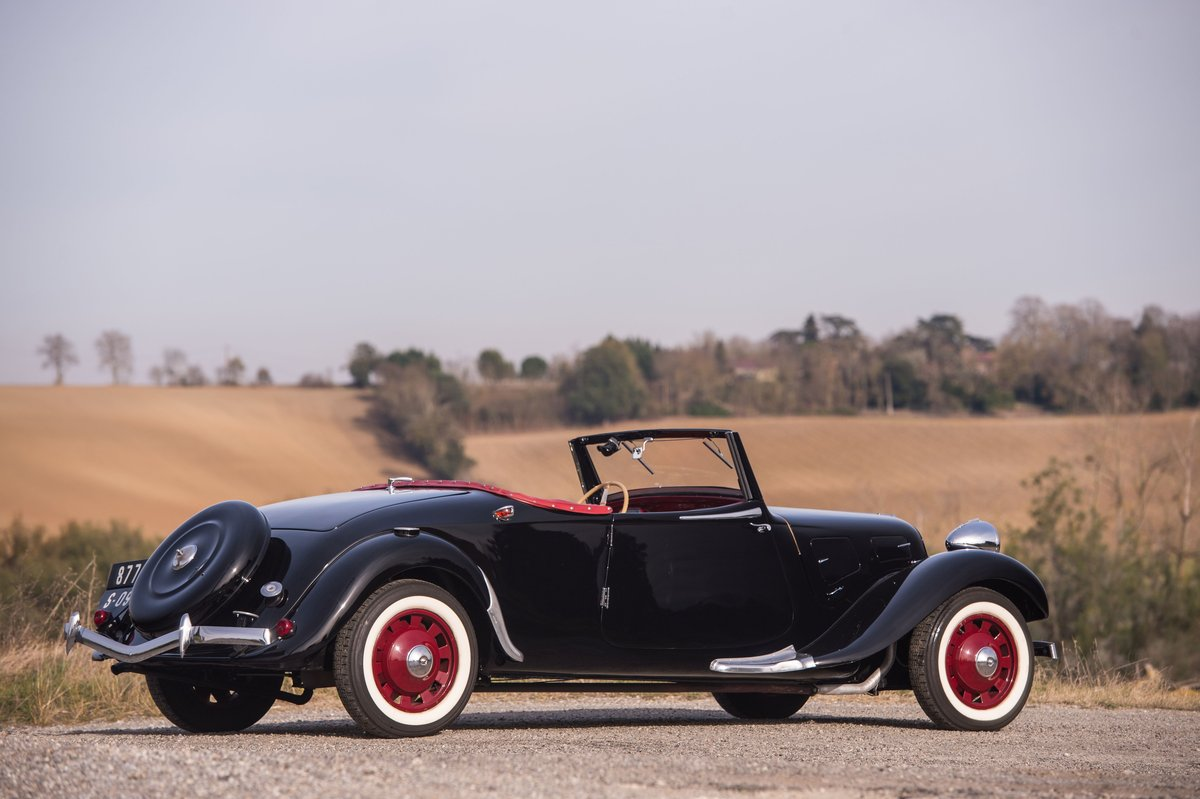 1939 Citroën Traction 11 B cabriolet For Sale by Auction (picture 2 of 5)