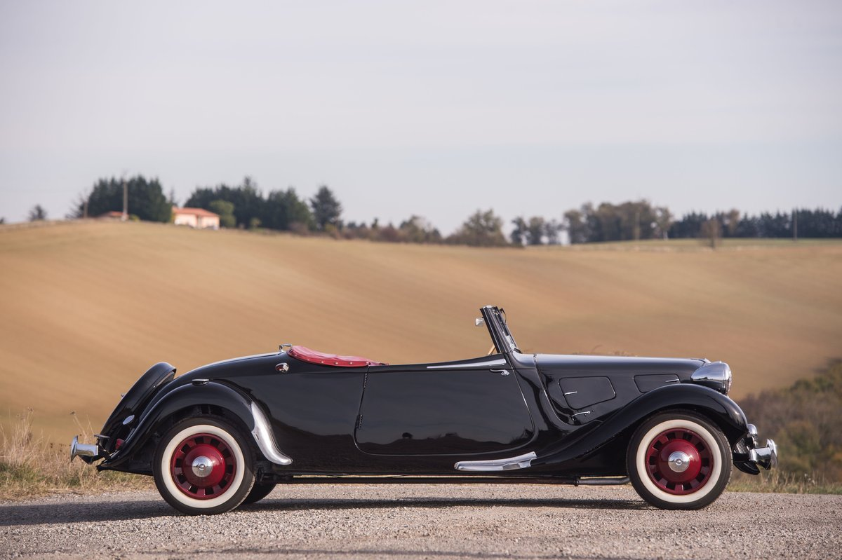 1939 Citroën Traction 11 B cabriolet For Sale by Auction (picture 3 of 5)